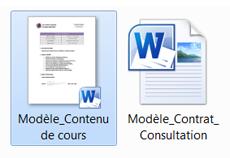 Association d'une miniature à un document | Microsoft Word